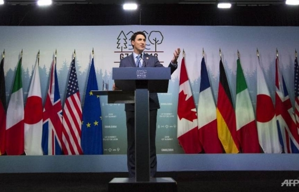 g7 says to fight protectionism cut barriers after summit
