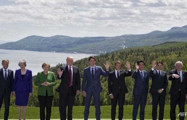 g7 summit fails to heal trade rift as trump stands alone