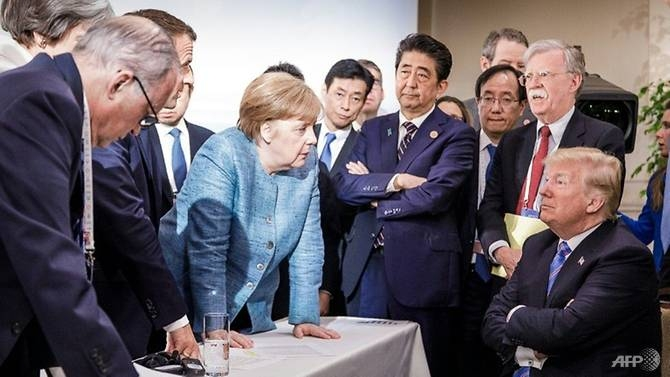trump g7 tweets sobering and depressing merkel