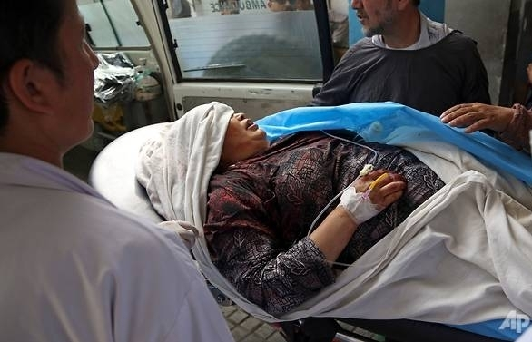 13 dead 31 wounded in kabul attack