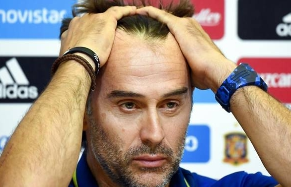 dismay in spain as undefeated coach fired before start of world cup
