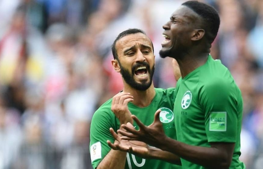 world cup saudi thumping offers little hope for asian upturn in russia