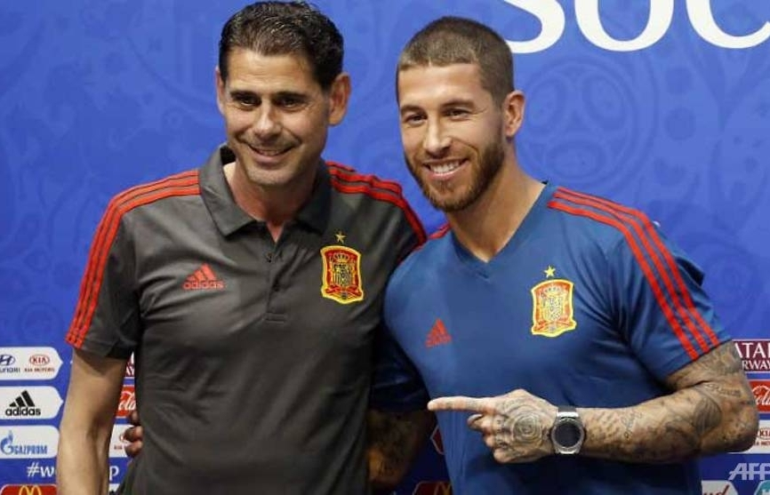 world cup spain united ahead of clash with ronaldos portugal