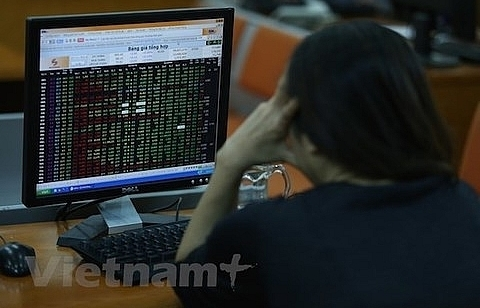 VN stocks close morning trading with mixed results