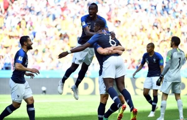 griezmann hits historic var penalty as france squeeze past australia