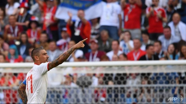 Kolarov stunner gives Serbia World Cup victory over Costa Rica
