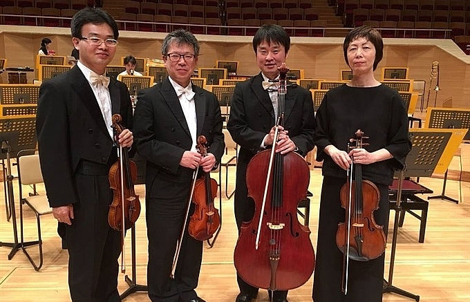 japanese quartet to take the stage in da nang