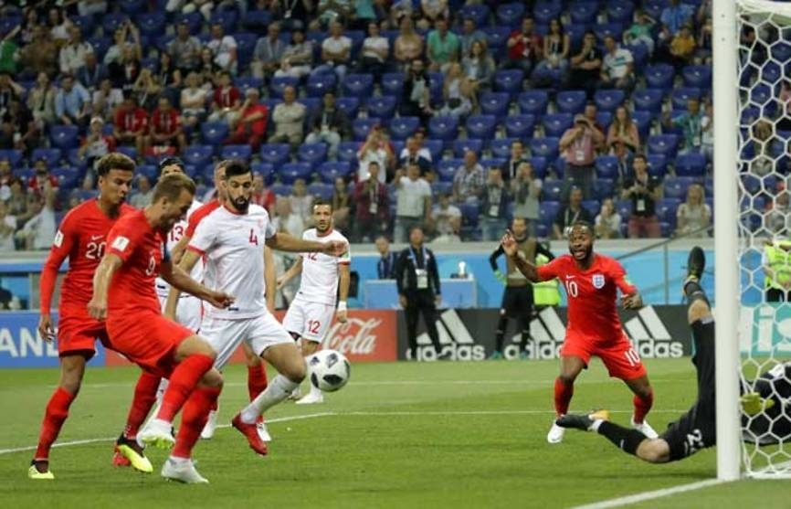 world cup kane to the rescue as england beat tunisia