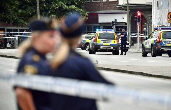 one dead five wounded in malmo shooting police