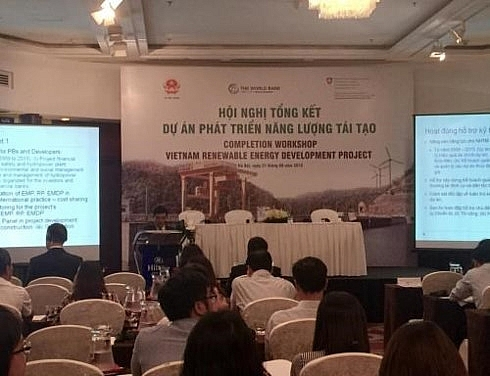 wb funded project helps vn renewable energy development