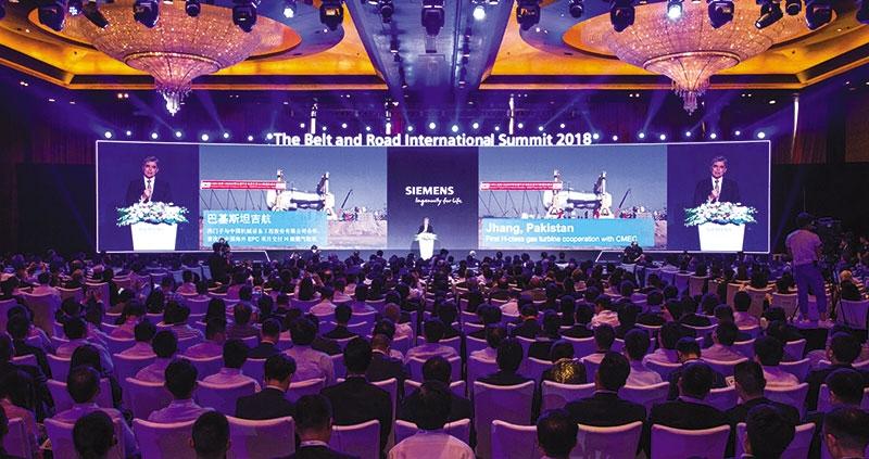 siemens takes the world on the digital silk road