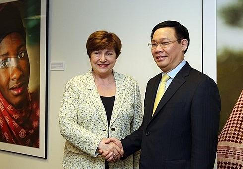 wb imf pledge to support vietnams development