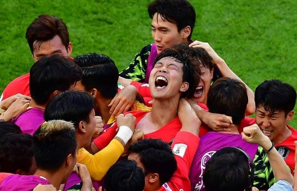 world cup champions germany crash out after 2 0 loss to south korea