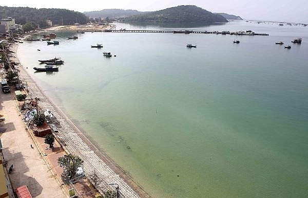 quang ninh power on co to island district restored