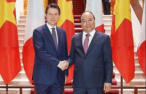 vietnamese italian pms agree to raise bilateral trade to us 6 bln by 2020