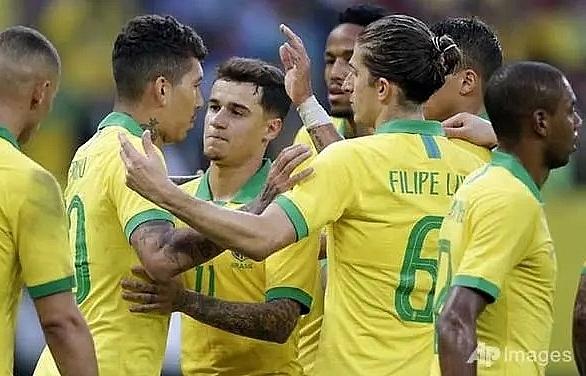 brazil hit honduras 7 0 in pre copa america friendly