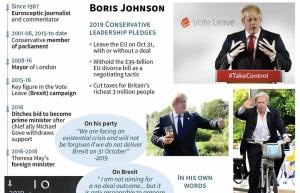 british pm rivals clash over brexit strategy