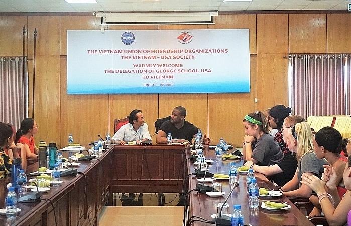 us schools delegation visits vietnam