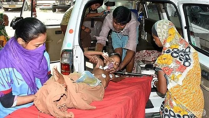 anger in india as lychee linked brain fever kills 113 children