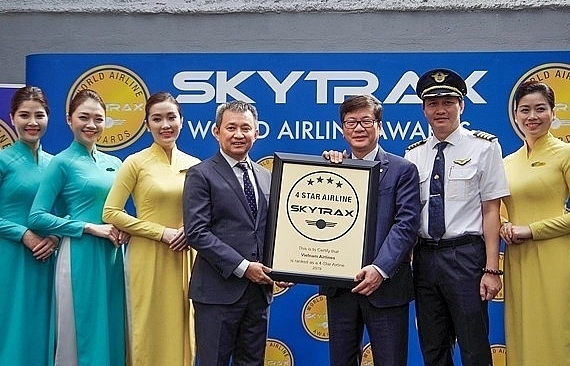 vietnam airlines gets 4 star airline rating for fourth consecutive year