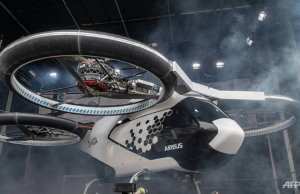paris aims to beat olympic traffic with flying taxis