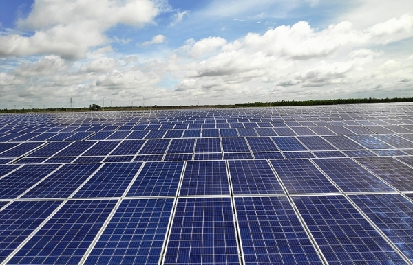 bcg cme solar power plant begins commercial operation in long an