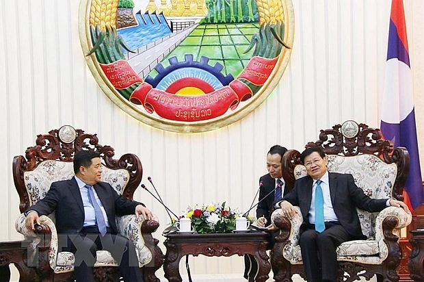 vietnamese lao investment ministries enhance co operation