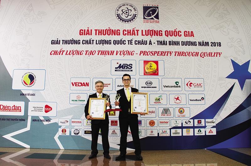 cp vietnams award double