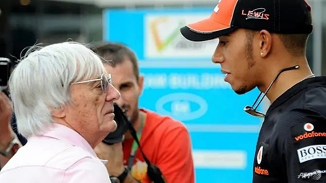 f1s hamilton right to speak out on racial injustice says ecclestone