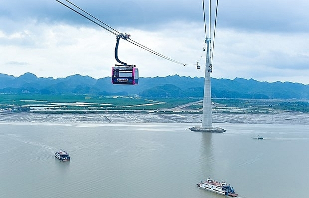 cable line with worlds highest track rope to be inaugurated in hai phong