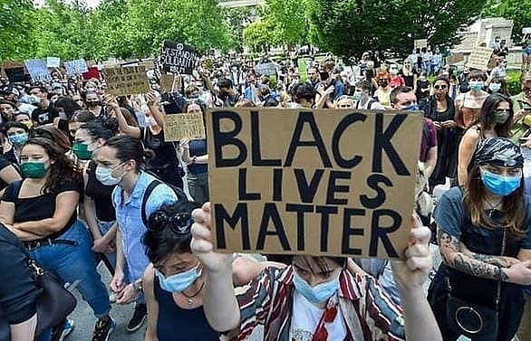 europeans join global wave of anti racism protests