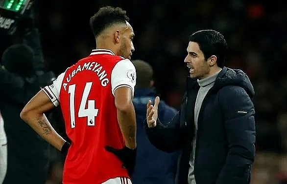 arteta pretty positive arsenal can keep aubameyang