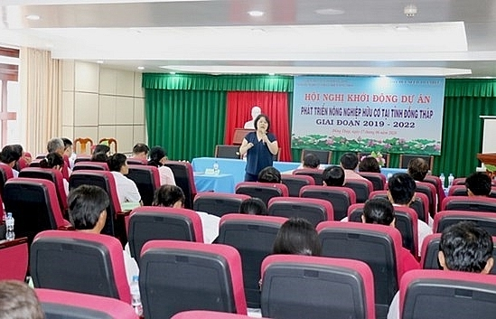 japanese ngo funds organic agriculture project in dong thap