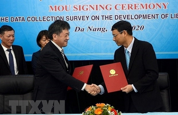 jica funded project helps da nang develop lien chieu port