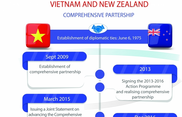 vietnam and new zealand comprehensive partnership