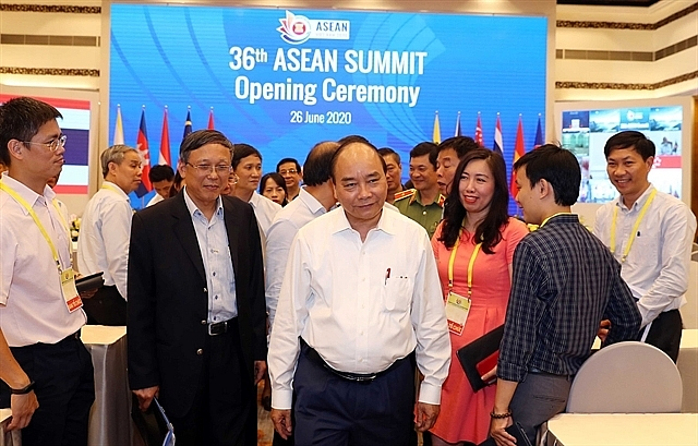 govt chief inspects preparations for 36th asean summit