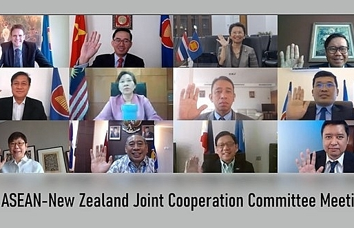 asean new zealand to reinforce strategic partnership