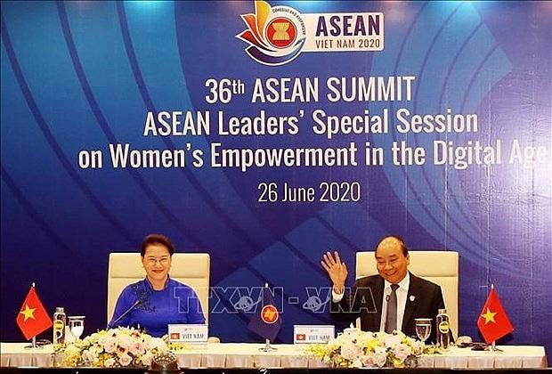 asean leaders debate womens empowerment in digital age