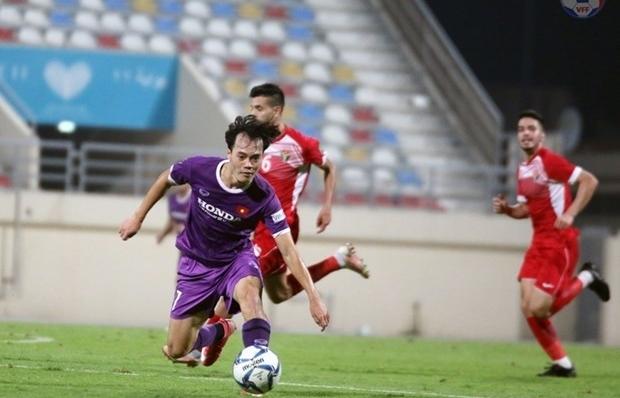 vietnam draw 1 1 with jordan in closed door friendly match