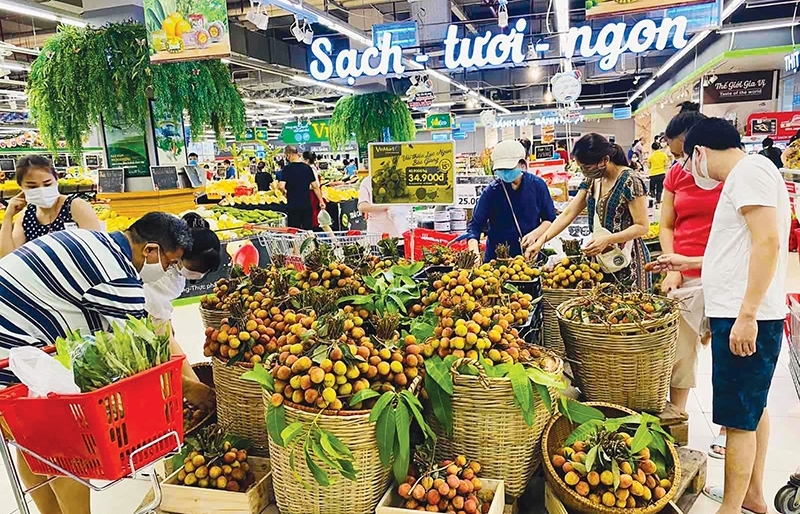 VinCommerce's pledge to support Bac Giang items
