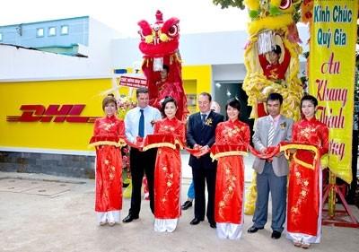 dhl opens new depot in long an