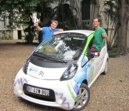 travelling around the world on eur250 of electricity