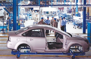 auto sector hits the brakes