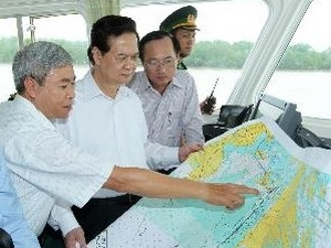 pm urges acceleration of intl port project in haiphong