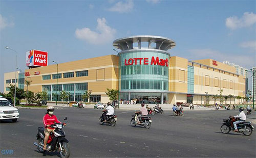 Lotte Mart in landmark move to the capital doors to the capital