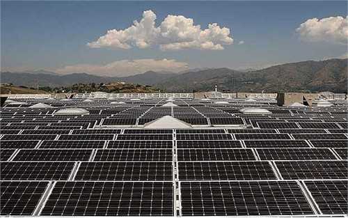 chinas bowerway opens first solar project