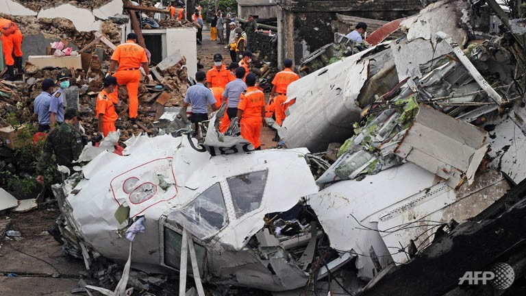 TAIWAN PLANE CRASH toll hits 48, officials defend flight clearance.