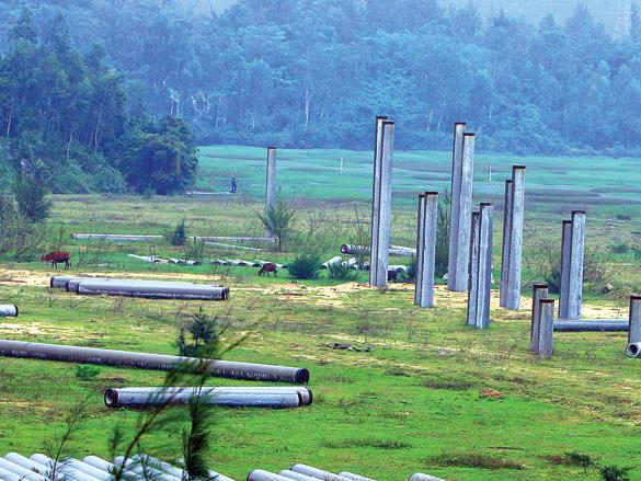 raft of mega projects lay idle