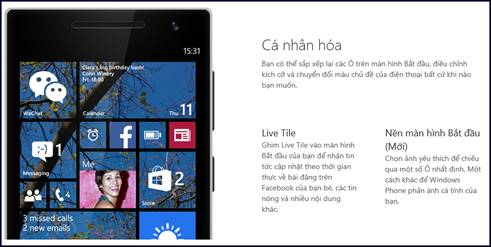 Windows Phone 8.1 update brings news features to the new market