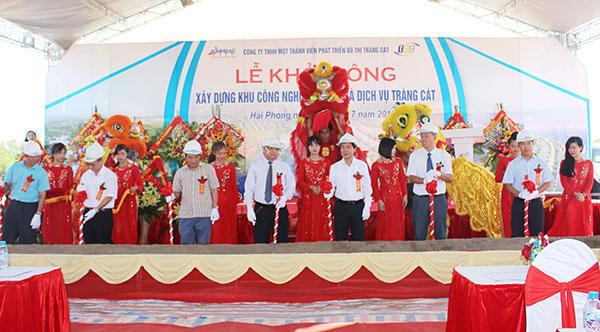 kinh bac corp starts construction of trang cat township